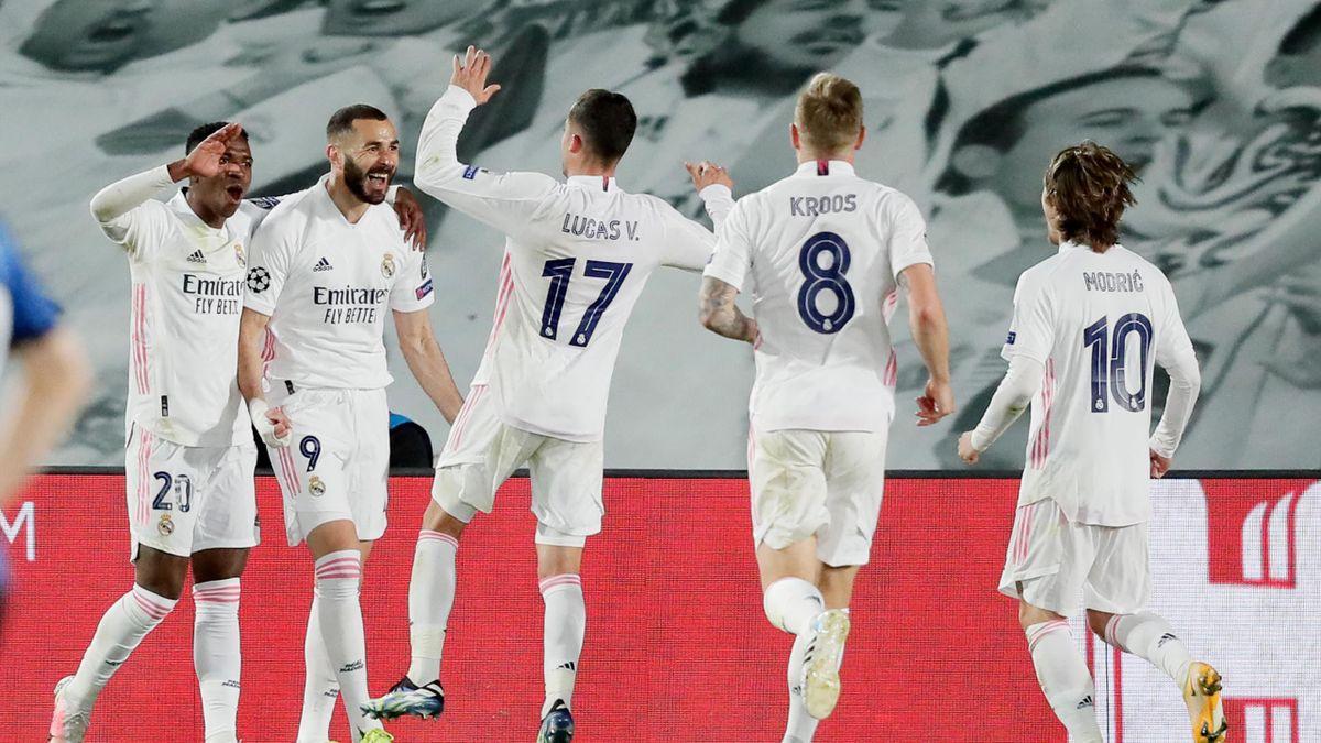 Freude pur bei den Real-Madrid-Stars nach dem Erreichen des Viertelfinales