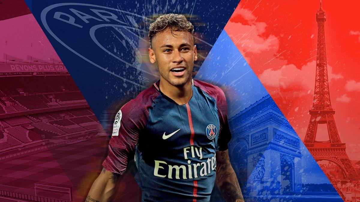 Neymar a signé au PSG !