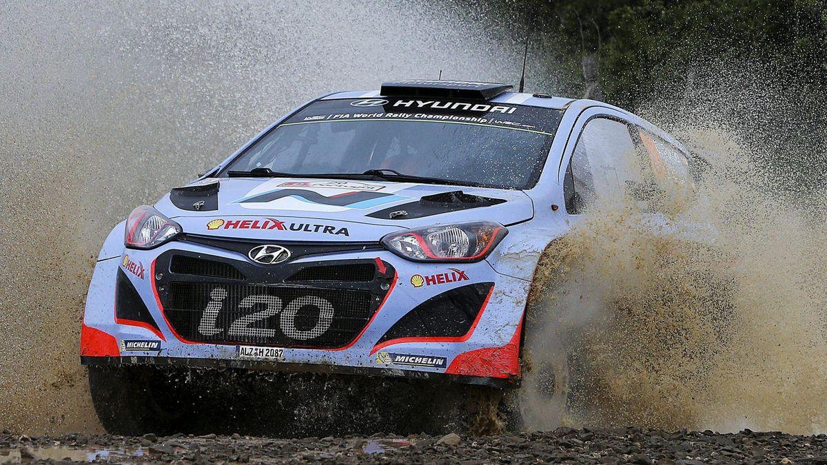 Dani Sordo (Hyndai) en el Rally Portugal 2014