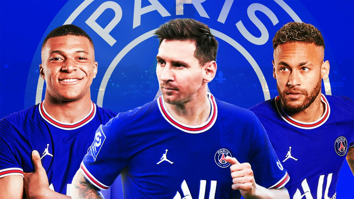 Kylian Mbappé, Lionel Messi, Neymar