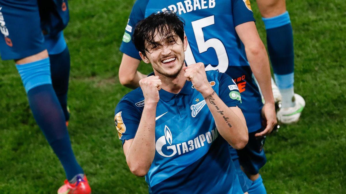 Sardar Azmoun erzielte für Zenit 54 Tore