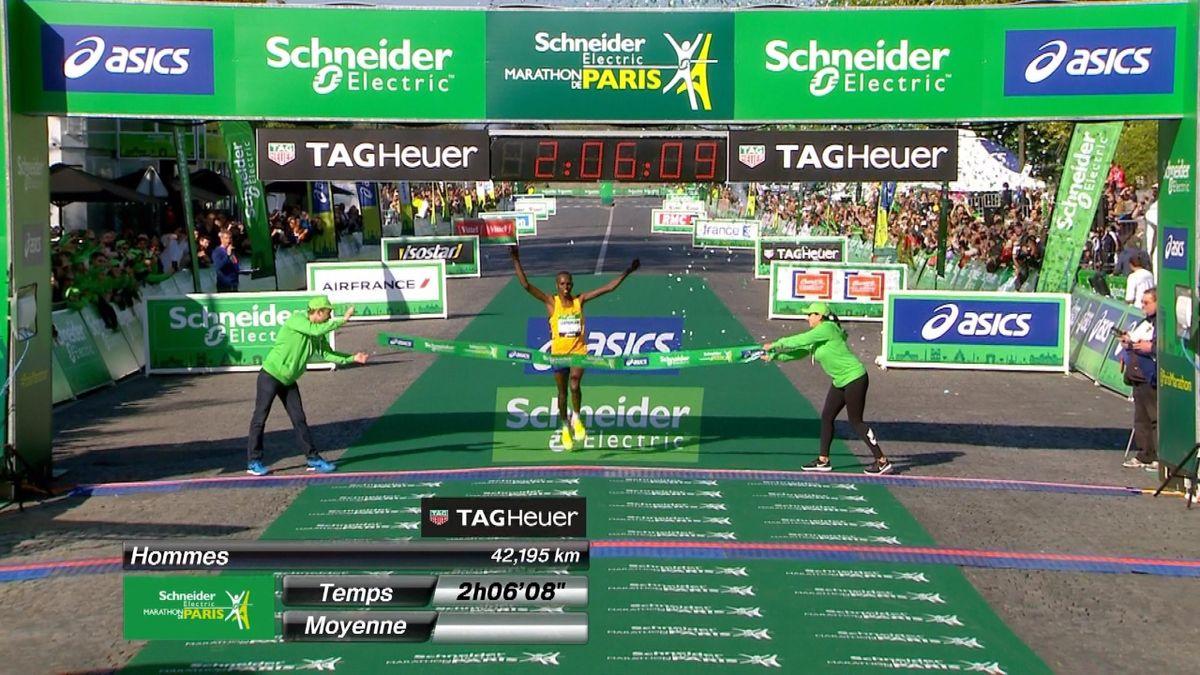 0409 Paris Marathon ITW Winner Men