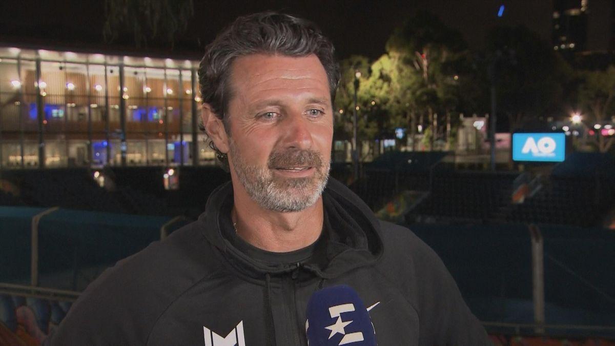 Australian Open : Interview Patrick Mouratoglou English