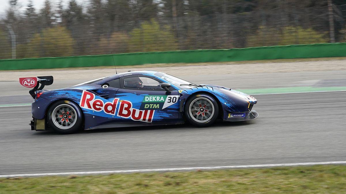 Liam Lawson in Monza