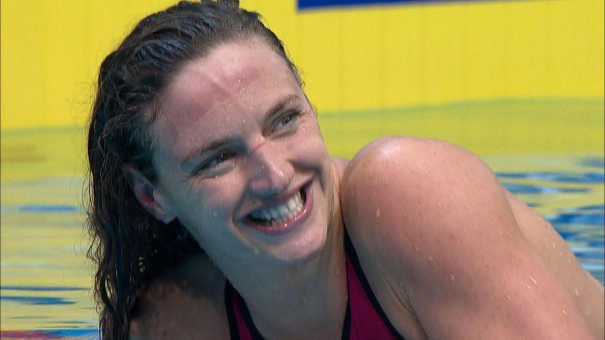 Swimming ECH Medley Hosszu