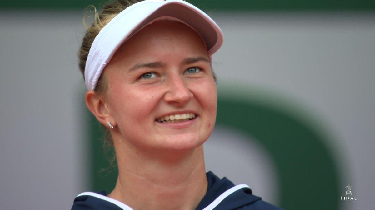 Roland Garros - Day 14 : Women's Final itw Krejcikova
