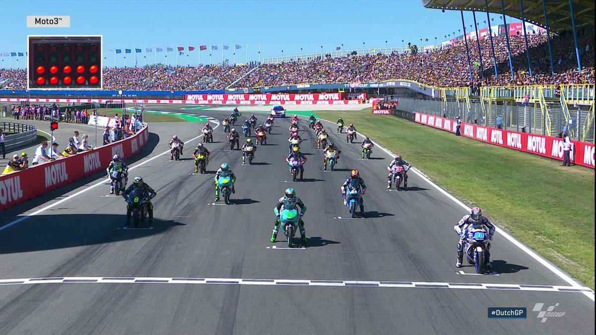 Moto 3 - Start Race