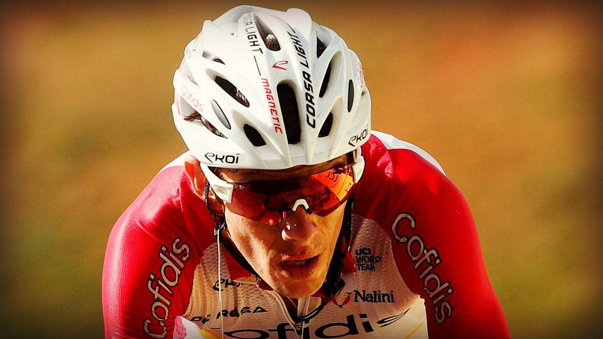 Guillaume Martin (Cofidis) lors de la 13e étape du Tour de France 2020.