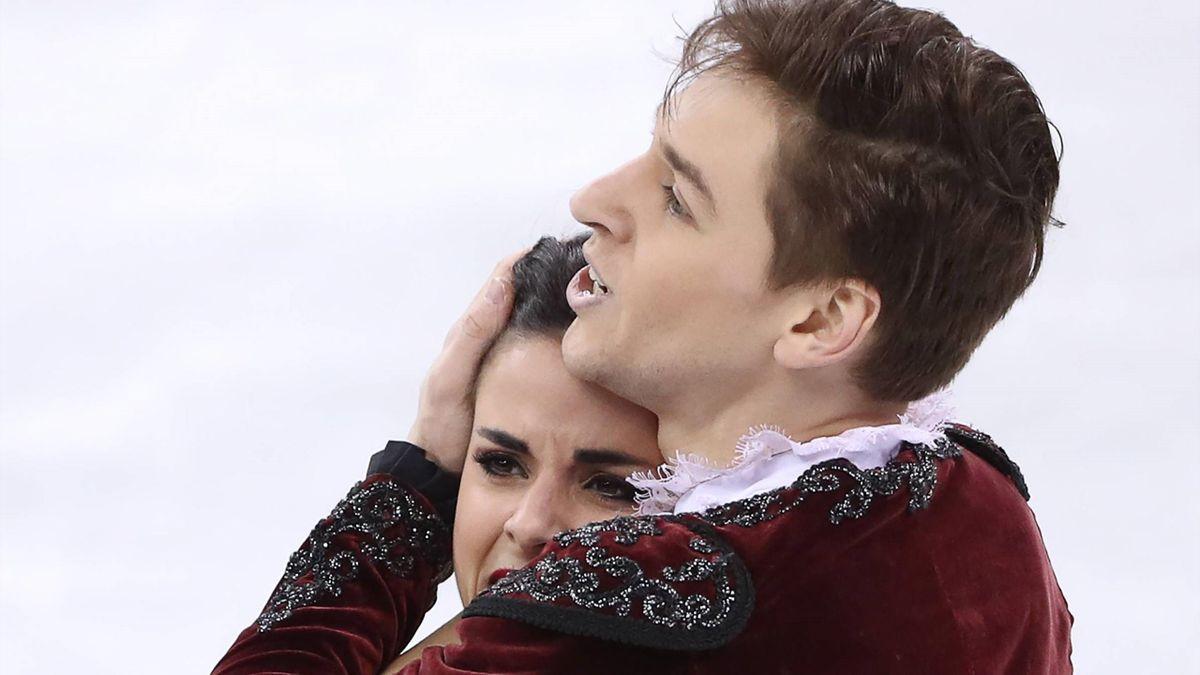 Sara Hurtado y Kirill Khalyavin en PyeongChang