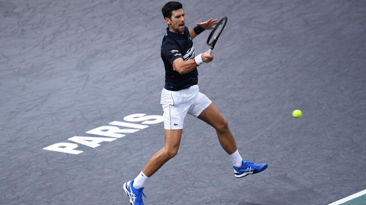 Novak Djokovic ist bei den ATP Masters Paris im Halbfinale