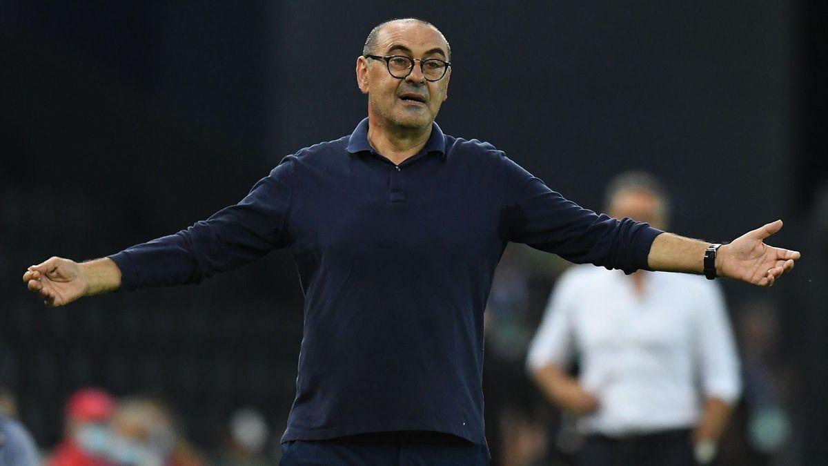Juventus head coach Maurizio Sarri.