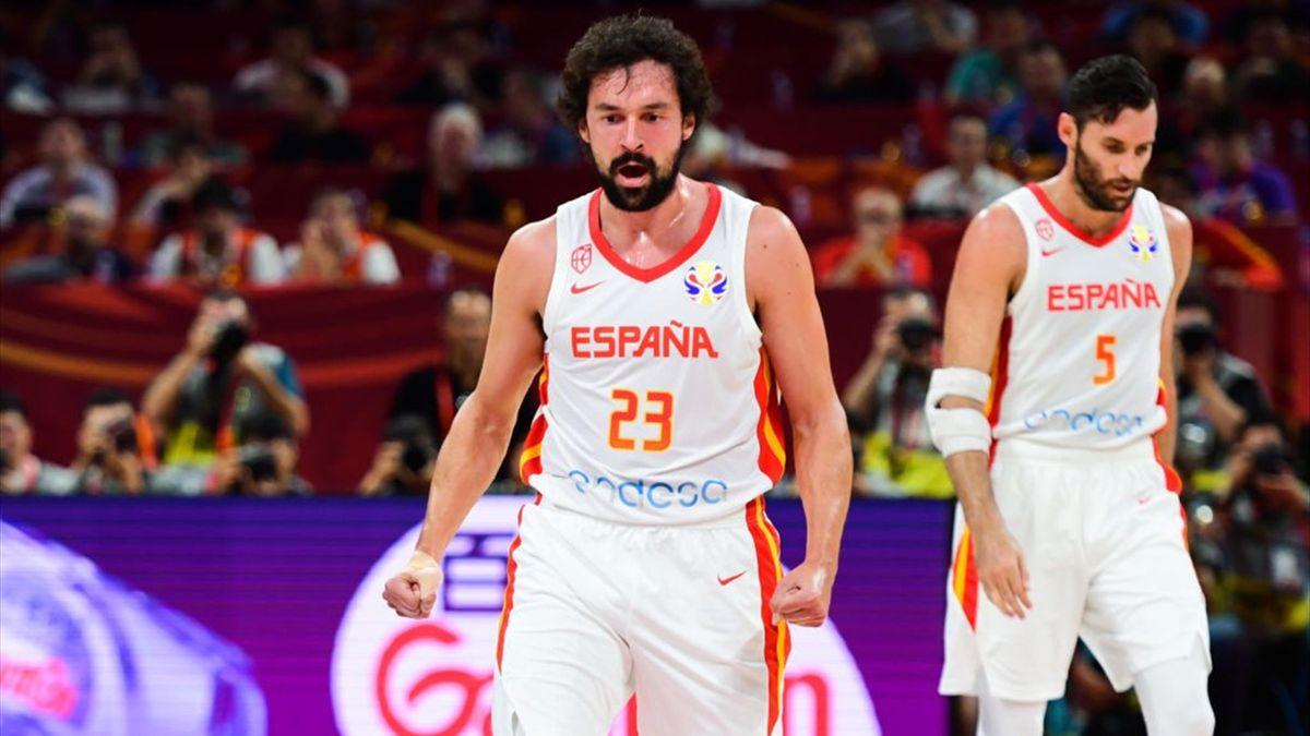 Sergio Llull en la semifinal España-Australia