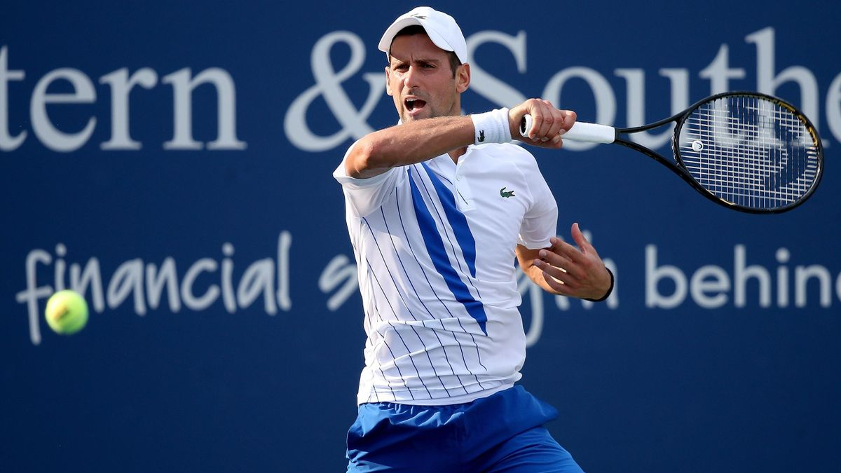 ATP Cincinnati: Resumen de la victoria de Djokovic ante Sandgren