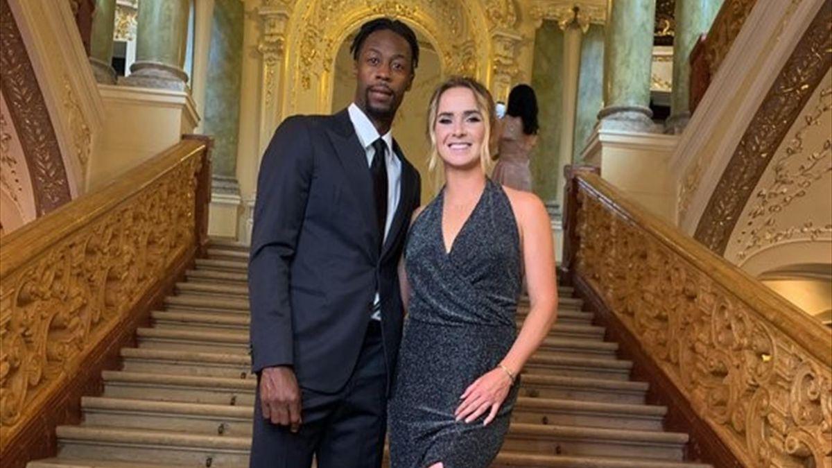 Элина Свитолина и Гаэль Монфис устроили свидание в Одесском оперном театре