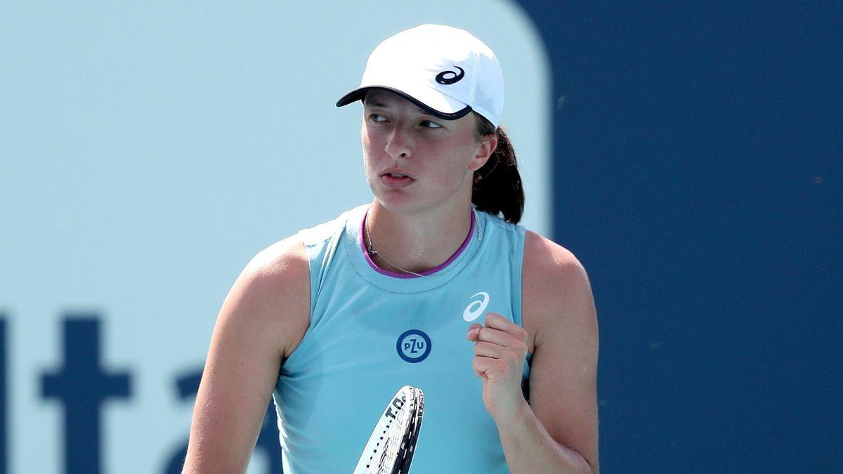 Iga Swiatek at Miami Open