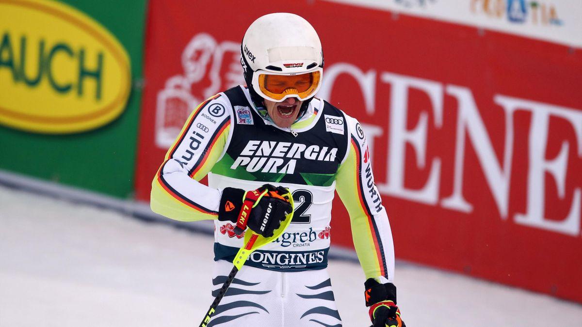 Linus Straßer bei seinem Sieg in Zagreb