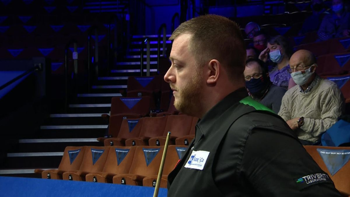'Comprehensive victory' - Allen cruises into second round at Crucible