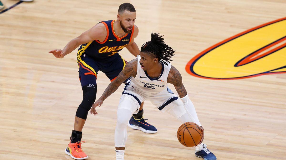 Curry és Morant, Golden State Warriors-Memphis Grizzilies