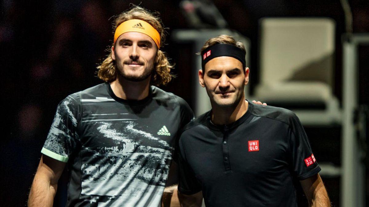 Tsitsipas on Federer: His return brings joy to the players