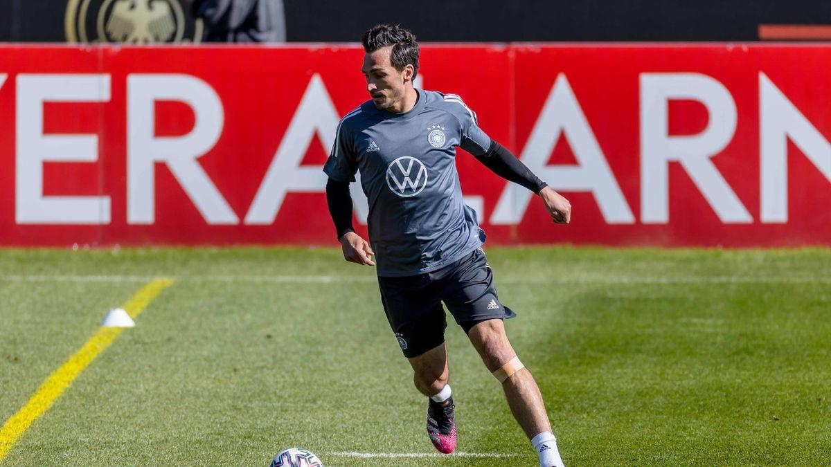 Mats Hummels im DFB-Training
