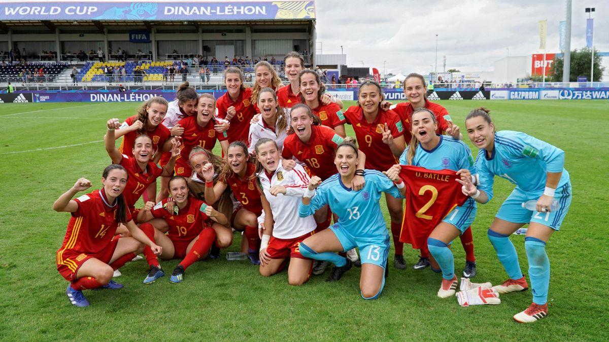 España en el Mundial Sub-20 femenino de 2018