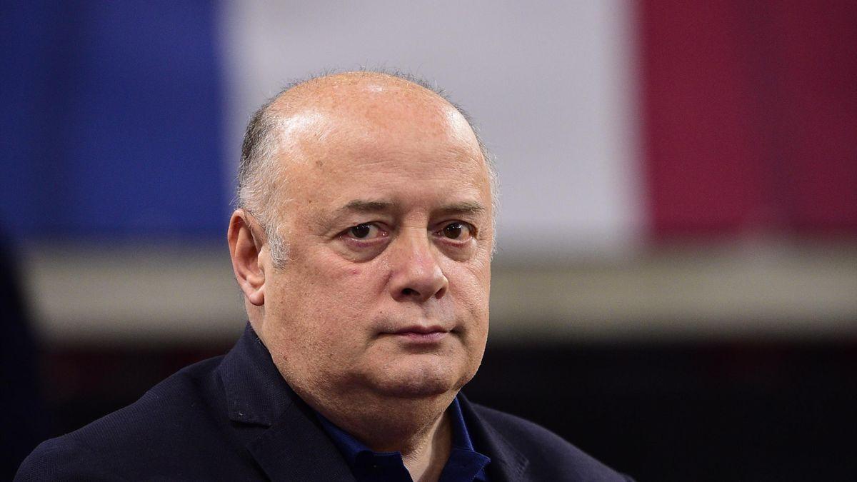 Bernard Giudicelli, le président de la Fédération Française de Tennis