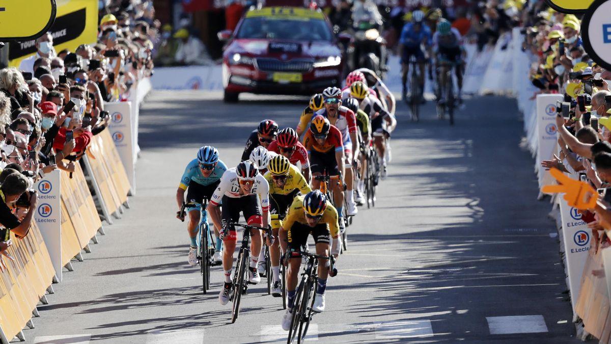 Roglic a sprintat perfect pentru victorie în etapa a 4-a din Turul Franței 2020
