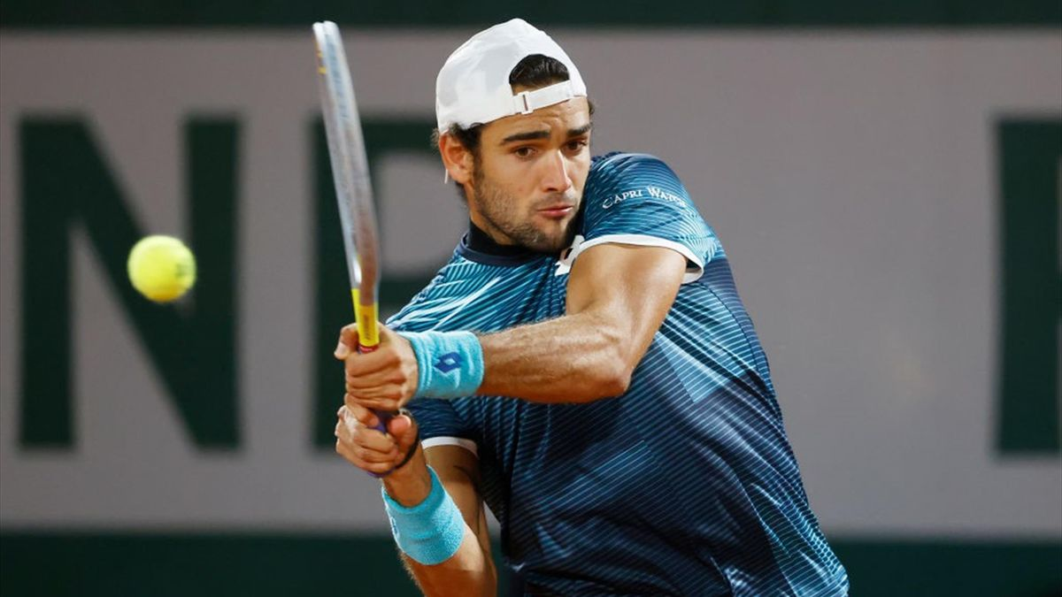 Roland-Garros Highlights : Lloyd Harris - Matteo Berrettini (7min ENG)