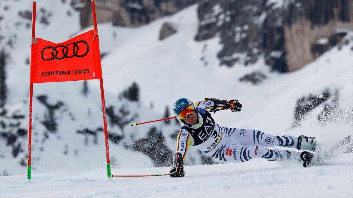 Alexander Schmid bei der alpinen Ski-WM