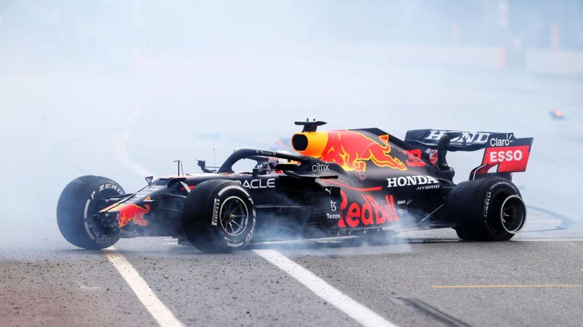 Макс Ферстаппен, авария на Гран-при Азербайджана
