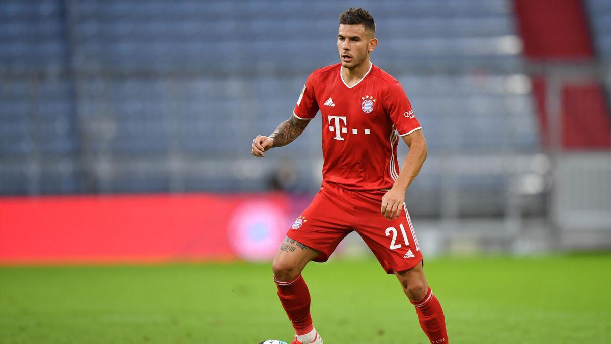 Lucas Hernández steht beim FC Bayern in der Startformation