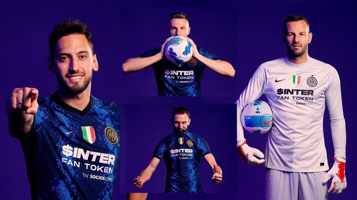 La maglia dell'Inter 2021-22 (foto credit: @Inter)