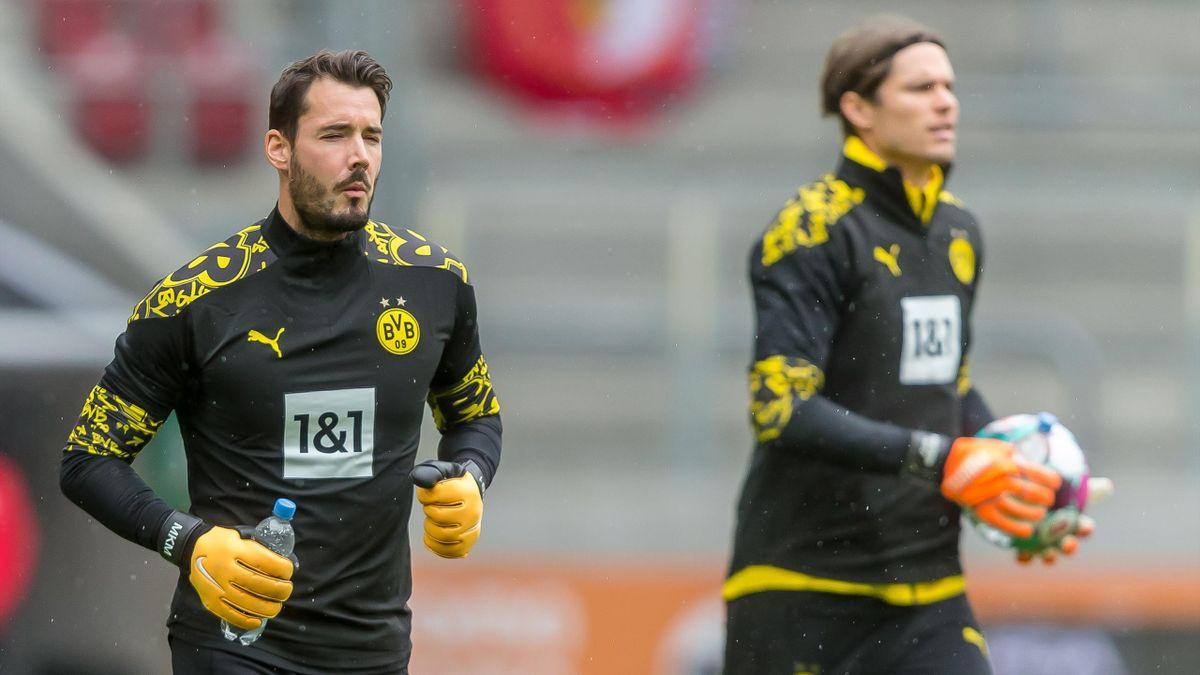 Roman Bürki (links) und Marwin Hitz - Borussia Dortmund