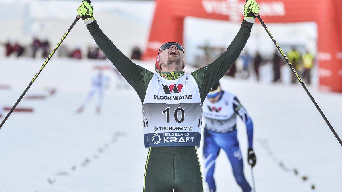 Fabian Rießle belegt Rang drei