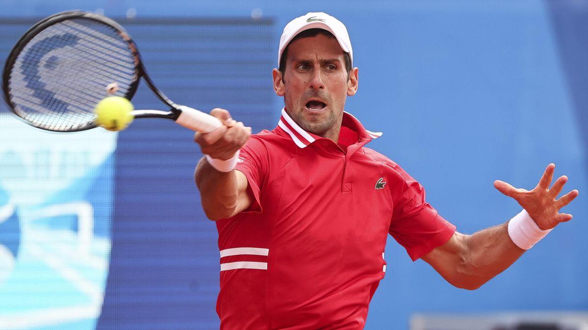 Novak Djokovic steht beim Sandplatz-Turnier in Belgrad im Viertelfinale
