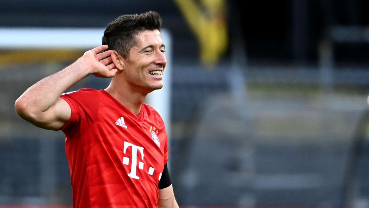 Robert Lewandowski (FC Bayern München) este noul lider în clasamentul Ghetei de Aur