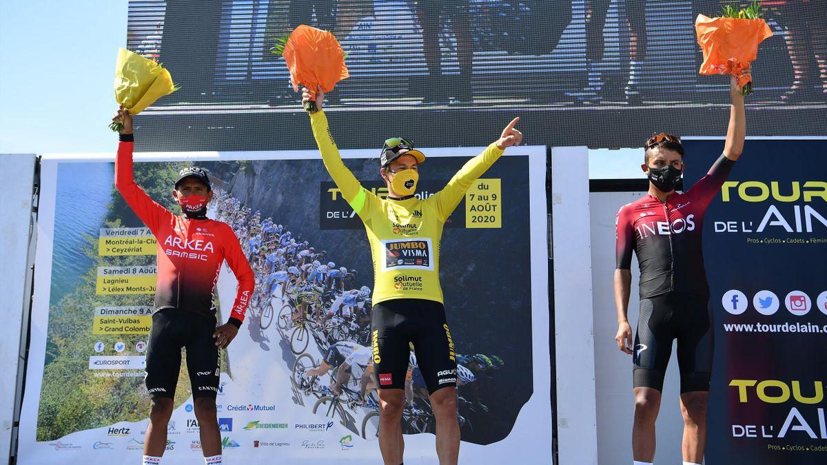 Primoz Roglic a câștigat Tour de l'Ain. Pe locul 2 s-a clasat Egan Bernal, iar pe 3 Nairo Quintana