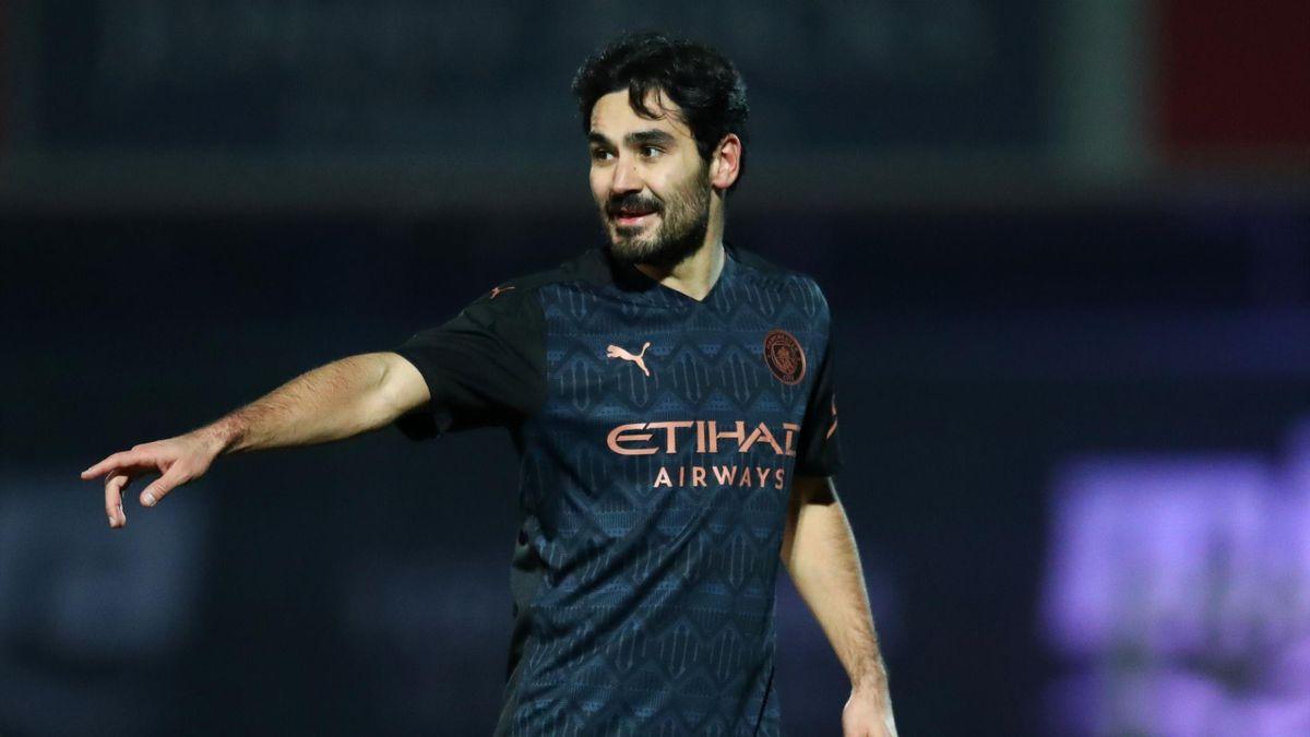 Ilkay Gündogan spielt mit Manchester City am Dienstagabend gegen Borussia Dortmund