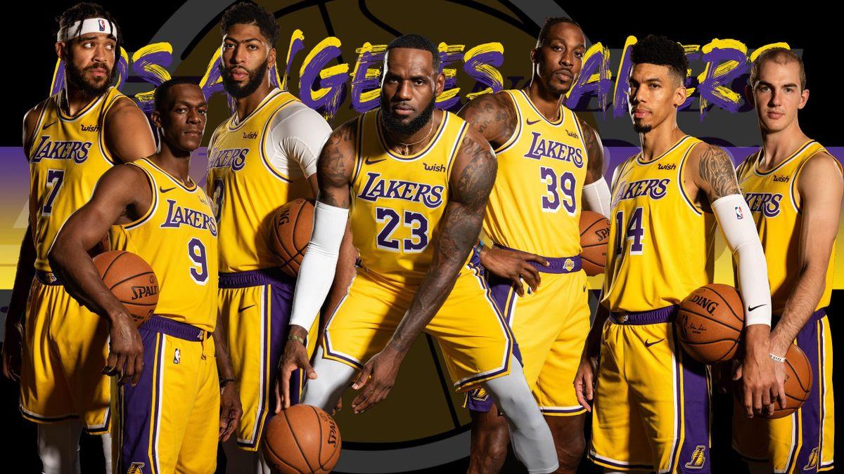 I Los Angeles Lakers, campioni NBA 2019-2020