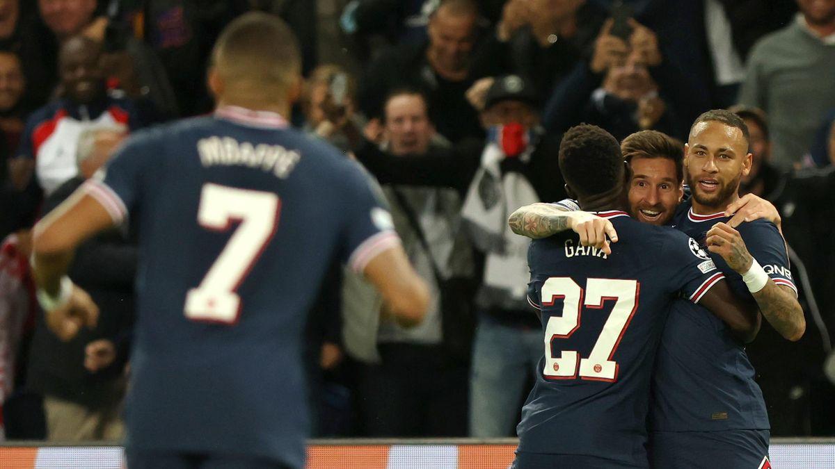 Lionel Messi, Neymar, Mbappe (PSG)