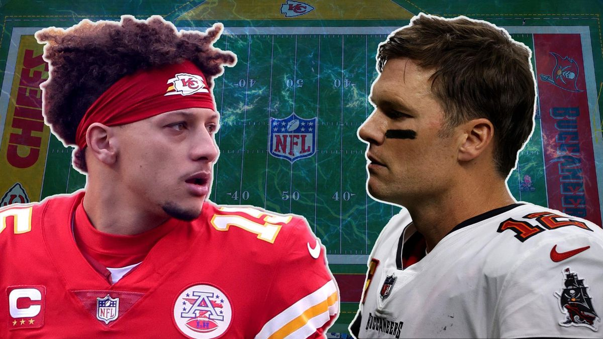 Patrick Mahomes vs Tom Brady, Super Bowl 2021