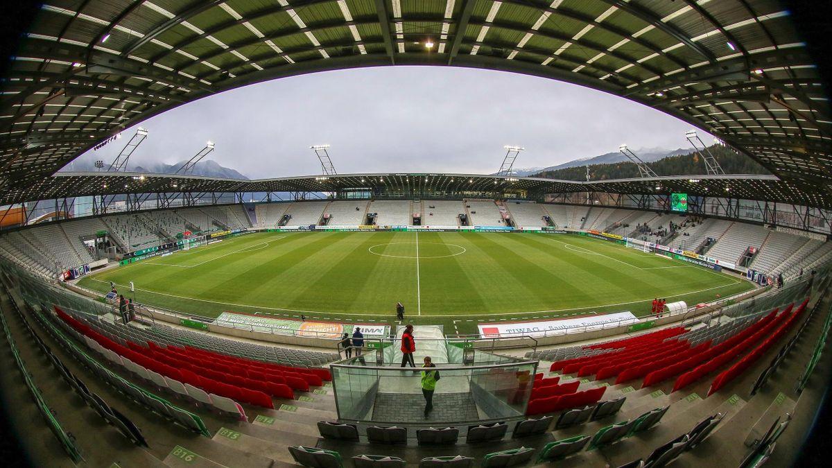 Das Tivoli-Stadion in Innsbruck