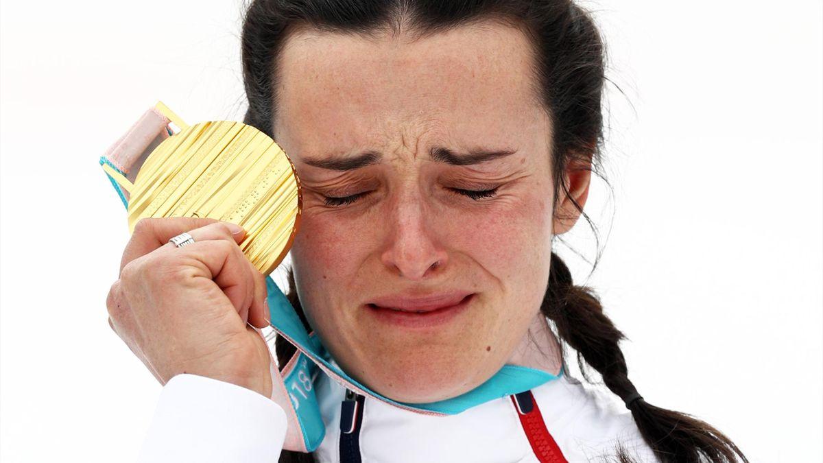 Marie Bochet a parachevé ses Jeux Paralympiques en décrochant une nouvelle médaille d'or, sur le slalom