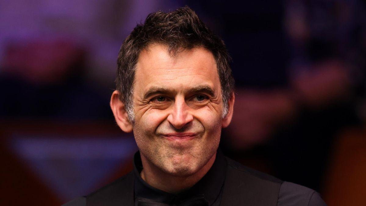 Ronnie O'Sullivan at the World Snooker Championship