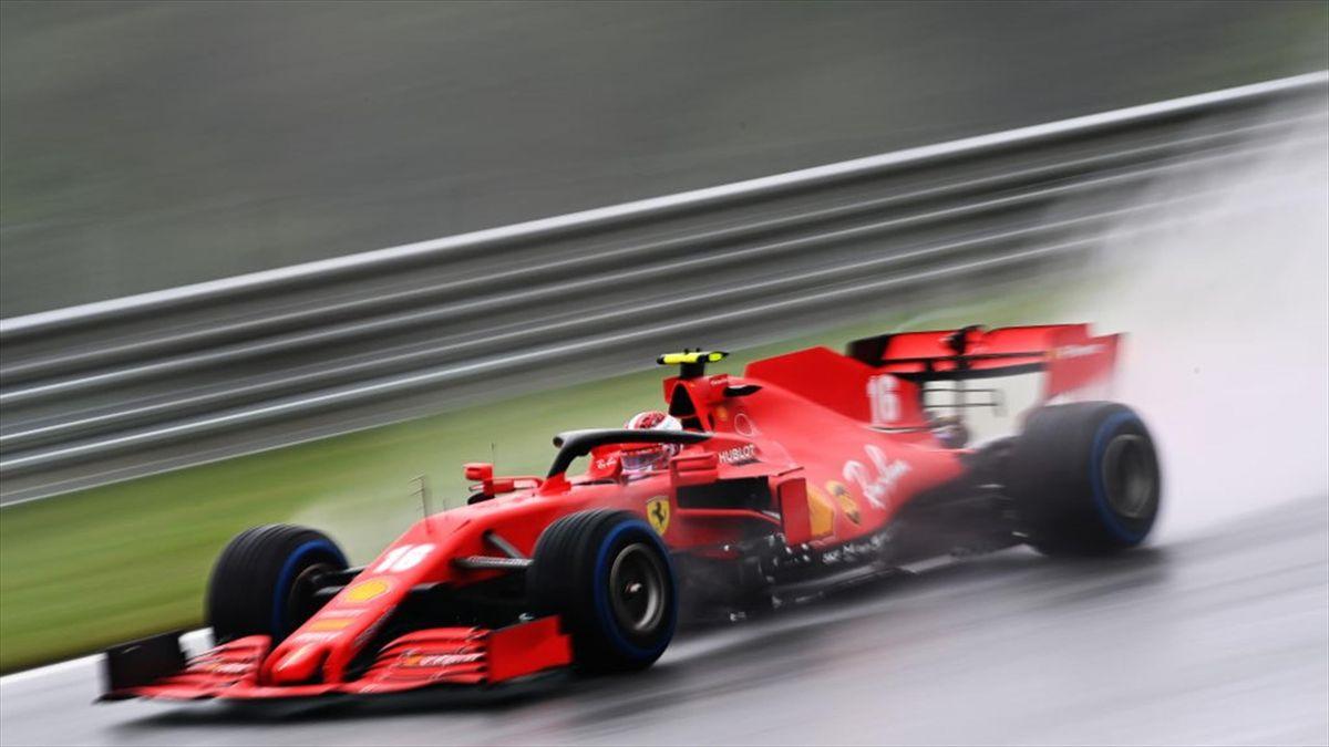Charles Leclerc (Ferrari) au Grand Prix de Styrie 2020