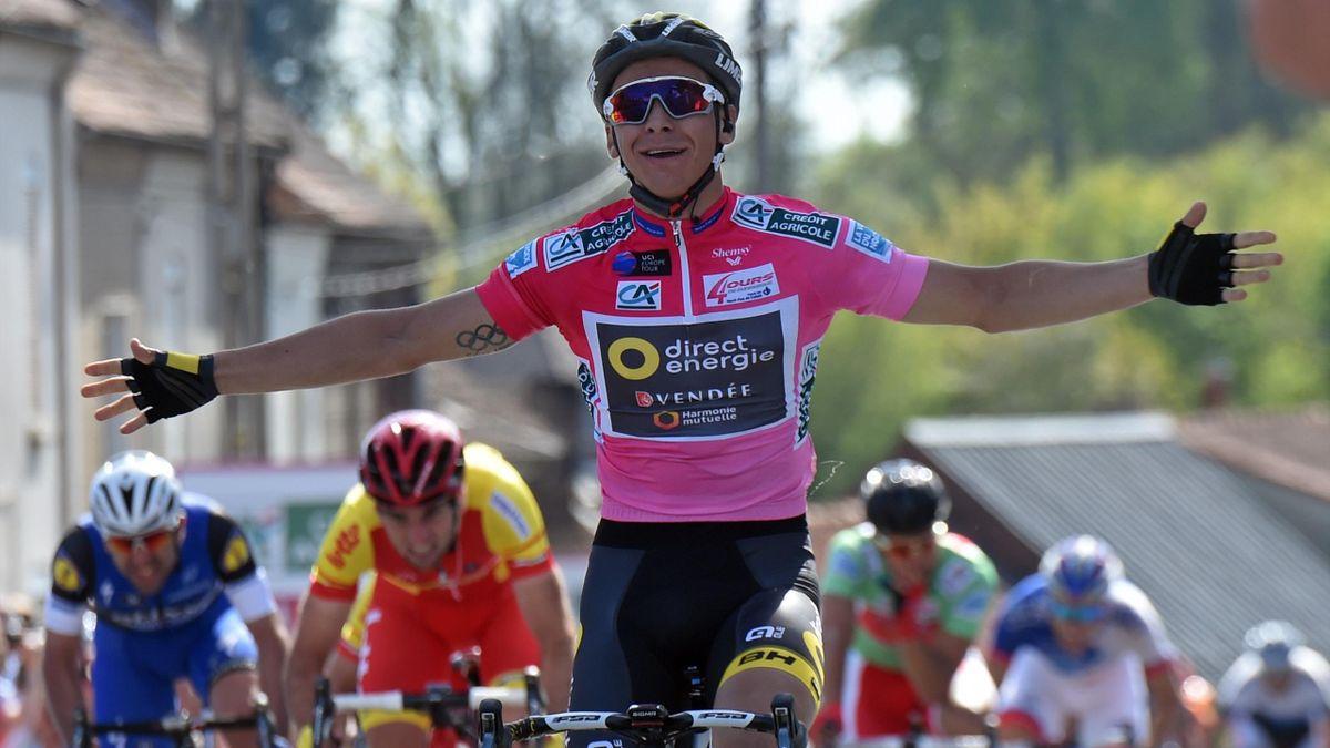 Bryan Coquard (Direct-Energie) vainqueur de la troisième étape des 4 Jours de Dunkerque
