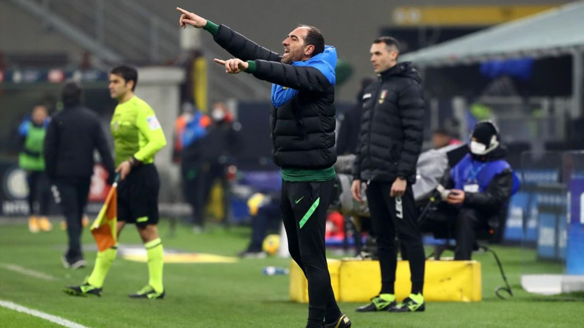 Cristian Stellini - Inter-Benevento - Serie A 2020-2021