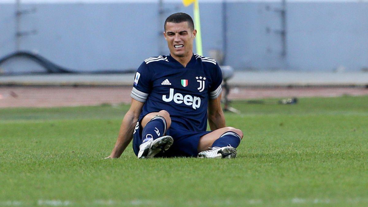 Cristiano Ronaldo injured during Juventus game with Lazio - Eurosport