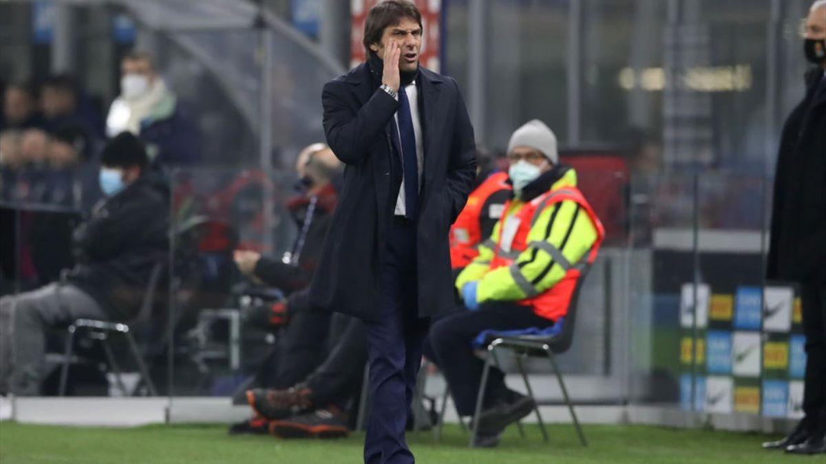 Antonio Conte - Inter-Juventus - Coppa Italia 2020/2021 - Getty Images