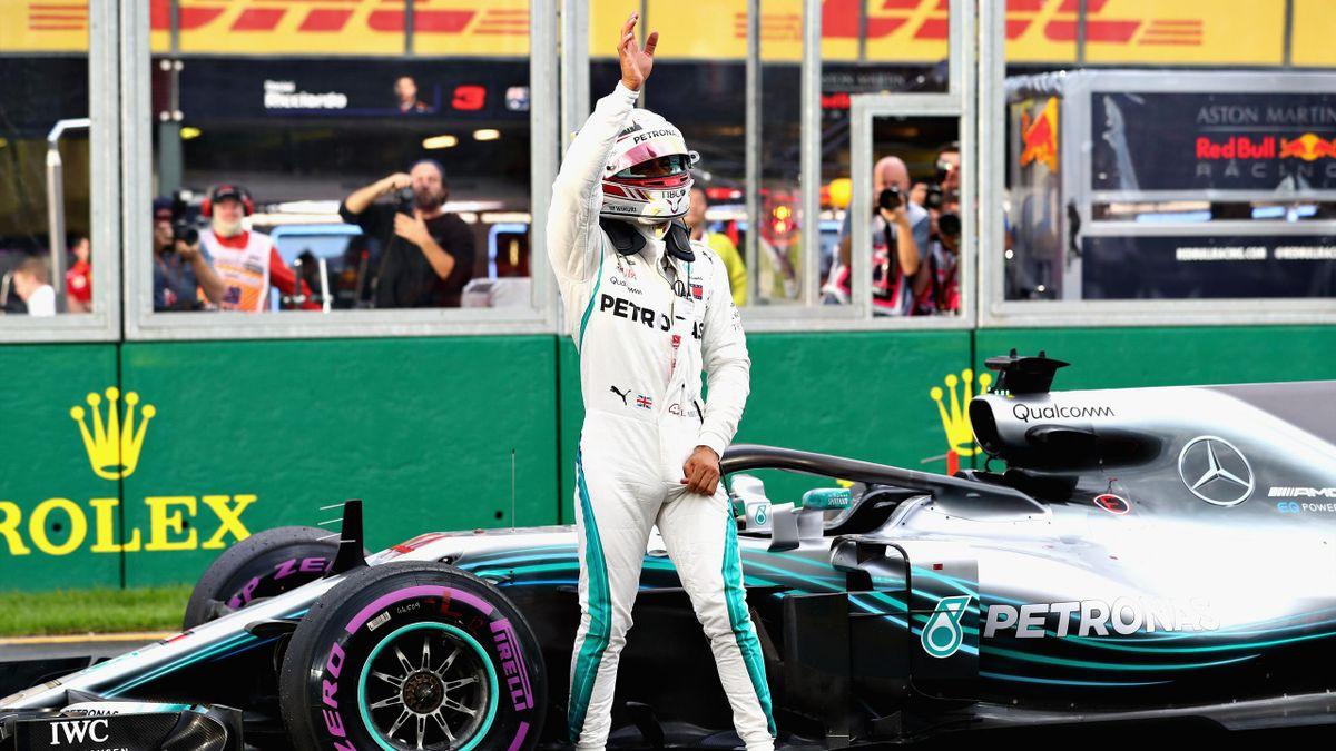 Lewis Hamilton, Australian GP F1, Getty Images